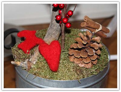 Tovat hjärta och julbock