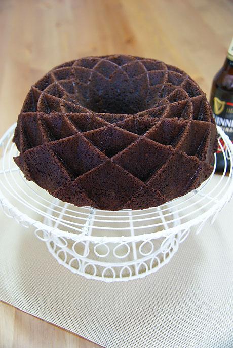 Bundt Cake De Cerveza Negra