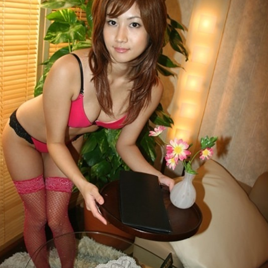 Asian hose in pantie woman