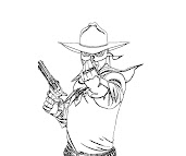 #7 The Lone Ranger Coloring Page