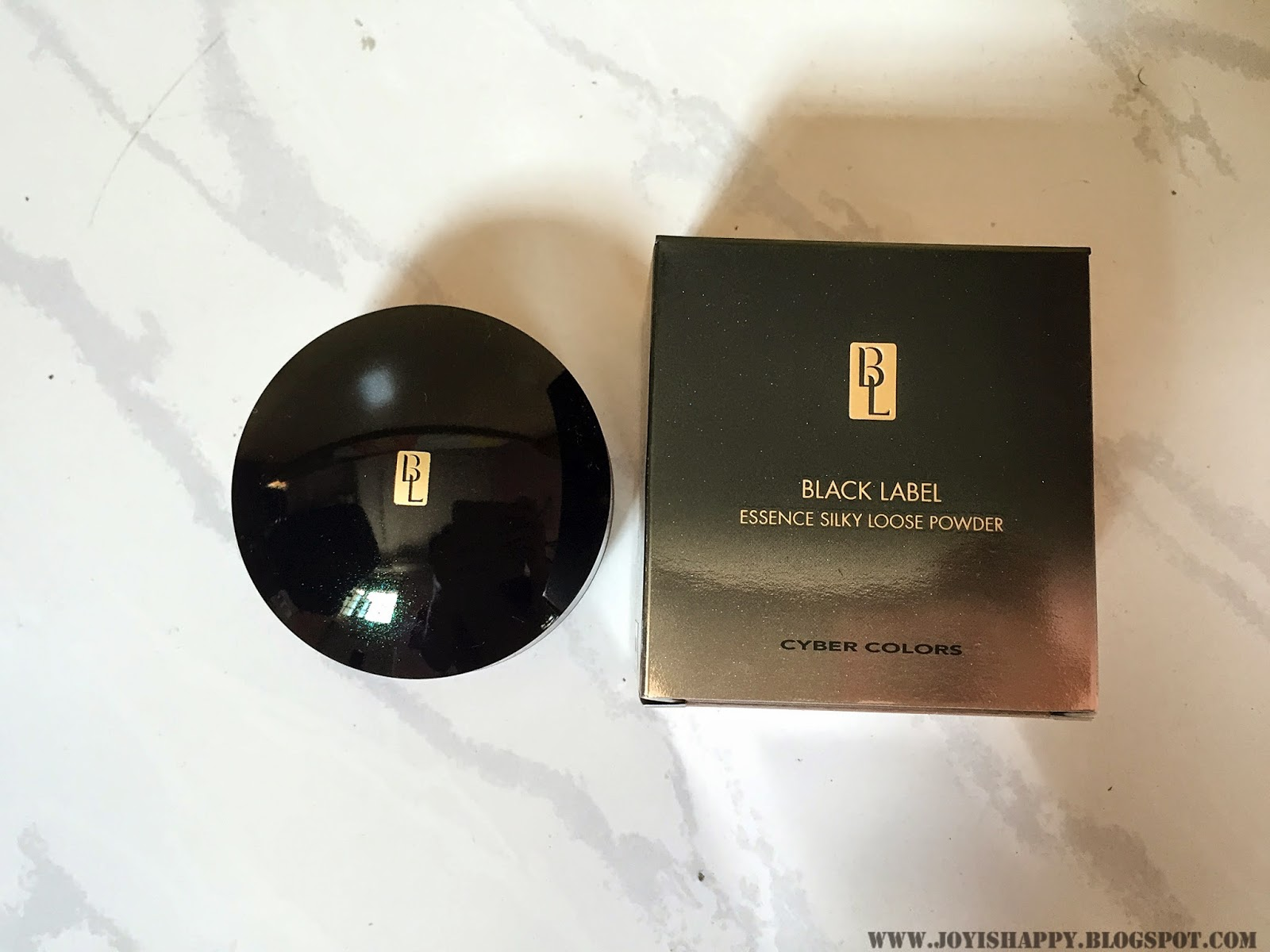 Cyber Colors Black Label loose powder review