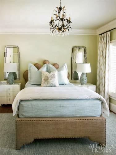 Interior designer Barbara Heath, owner of Mercantile in Atlanta, designed  this beauty. Happy Spring and ENJOY!