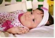 Sophia com 3 mês
