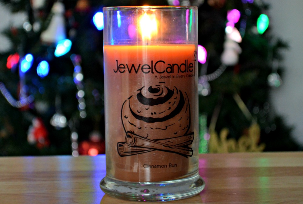 JewelCandle Cinnamon Bun 'Ring' Candle