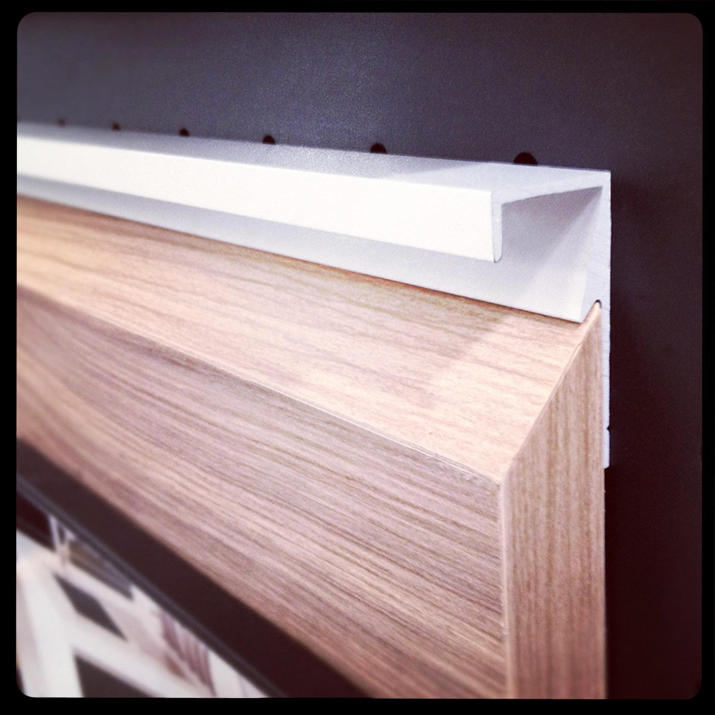 Puxador para móveis MILANO aplicado na madeira! #865745 1402x1402 Acessorios Banheiro Zen