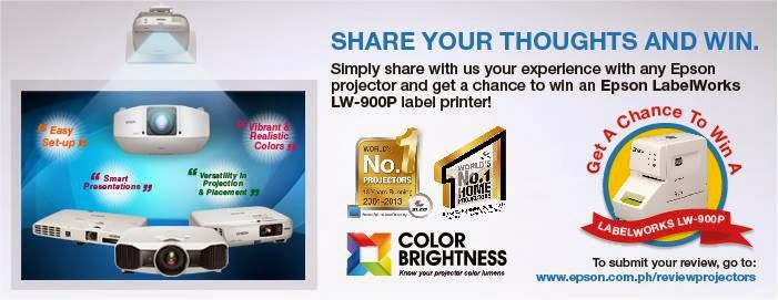 Epson Philippines Encourages Projector Owners to Give Feedback and Chance to Win an Epson LW-900 Label Printer