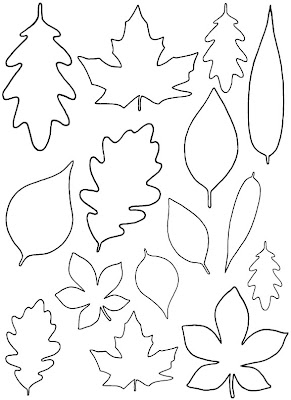 Free Printable Fall Leaves Template