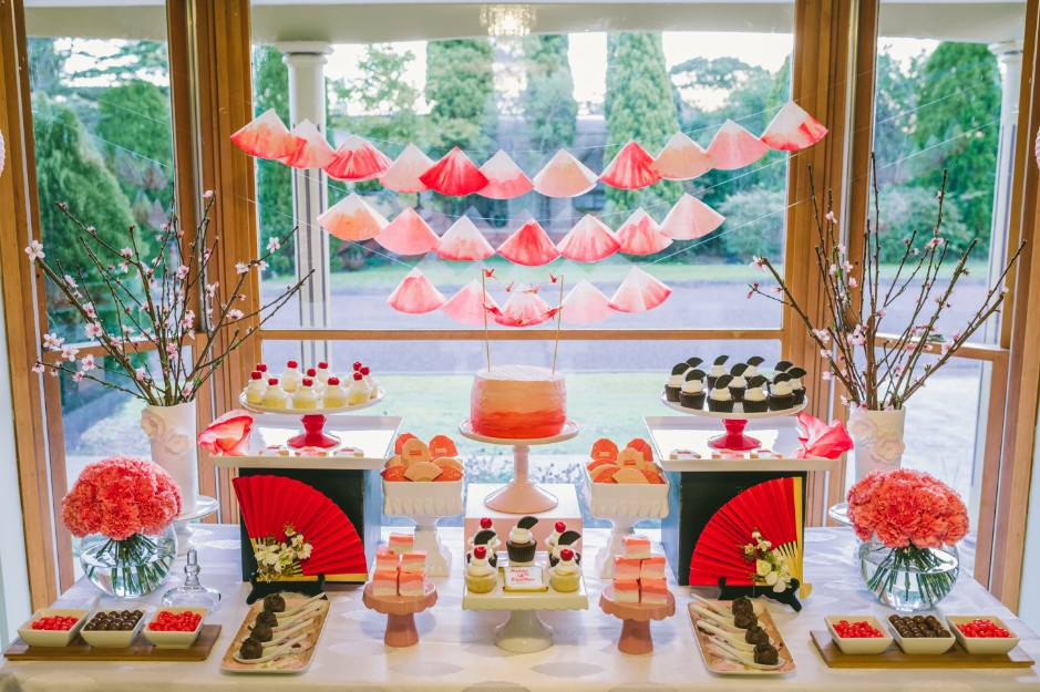 Little Big Company The Blog An Ombre Japanese Themed Party By