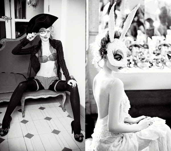 Fetish Inspirations : Ellen von Unwerth Black & White Picture