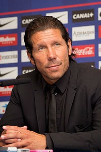 Translations of Diego Pablo Simeone: Manager of Atletico Madrid.