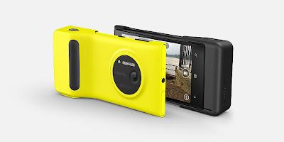 Nokia Lumia 1020 with camera grip, Nokia Lumia 1020, 41 megapixels camera