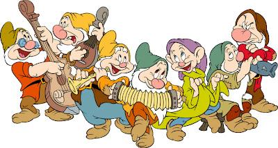 Los 7 enanitos de blancanieves