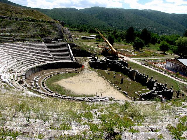 Dodona, teatro