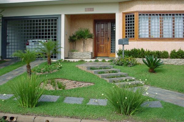Como fazer um jardim simples e barato para sua casa for Casas e jardins simples