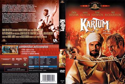 Carátula dvd: Kartum (1966)Khartoum