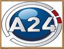 ver A24 en vivo gratis