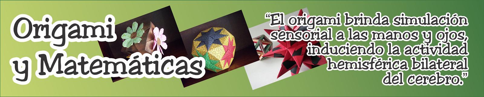Origami y Matemáticas