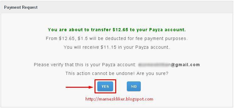 Cara Mudah Payout Probux Via Payza