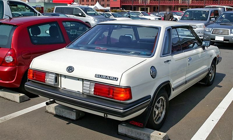 Subaru Leone, coupe, stary japoński samochód, nostalgic, retro, oldschool, スバル, クラシックカー