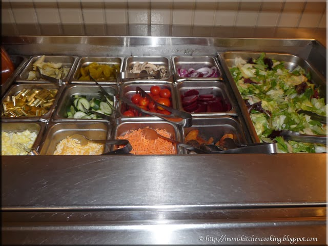 salad bar at The Lady & Sons
