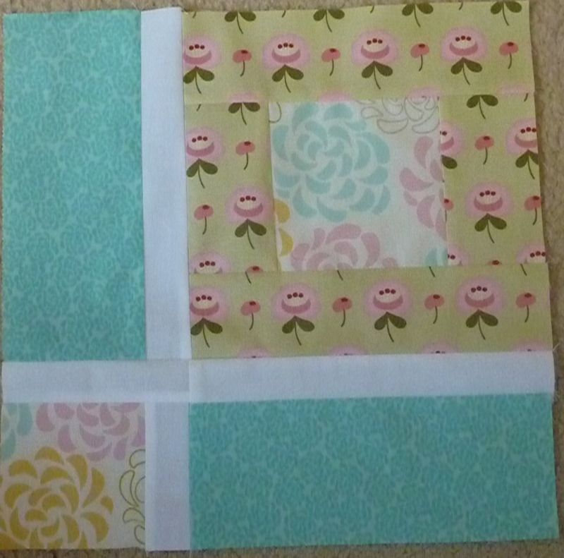 Sewing Tales: All blocks done in the Layer Cake Quilt Along