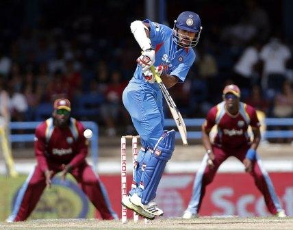 India vs West Indies Tri-Series 2013 Scorecard, Ind vs Ind vs WI Tri-series 4th match result,
