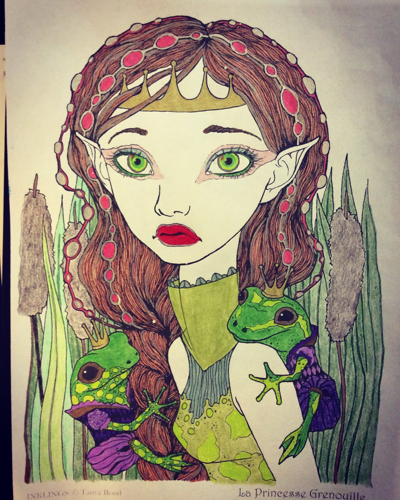 Frog Fairy Princess
