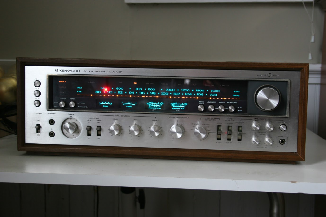 Bose Stereo >> Kenwood Eleven - Analog Stereo Receiver | AudioBaza