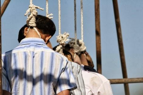 Hanged ayaz asgari mahmoud and marhoni