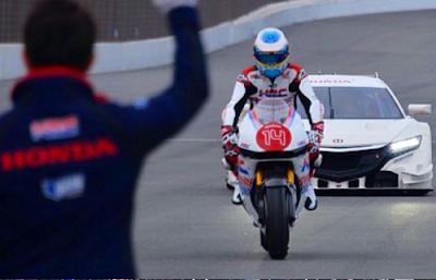 Intip Video Bintang F1 Jalal Motor Honda RC213V MotoGP