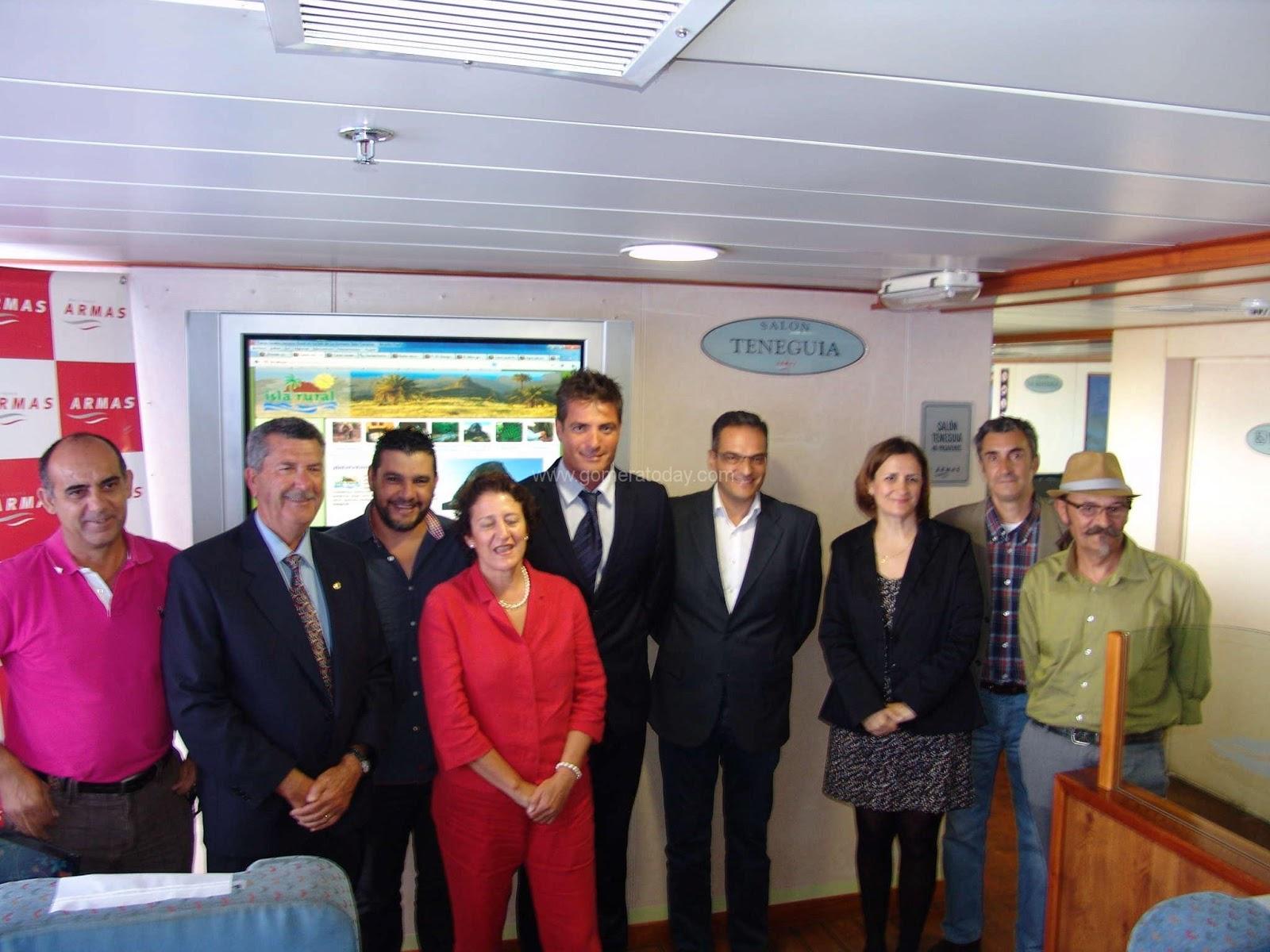 Navieraarmasblog presentada la asociaci n isla rural en for Oficina naviera armas