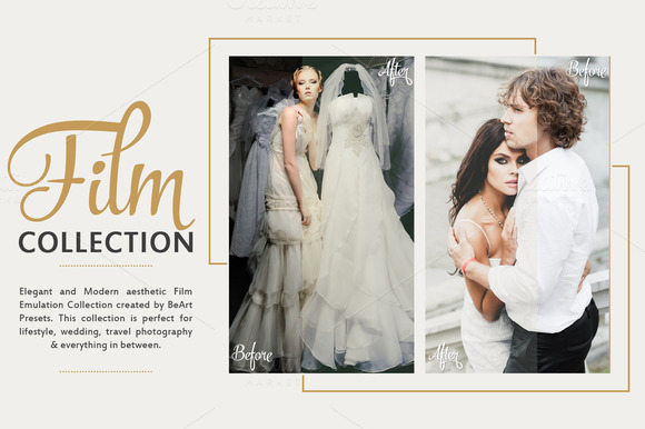 Photoshop Actions For Film Wedding Effect Photoshop Action