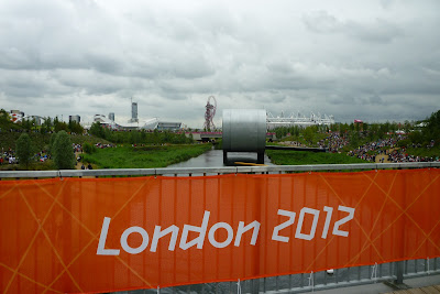 View of Olympic Park London 2012