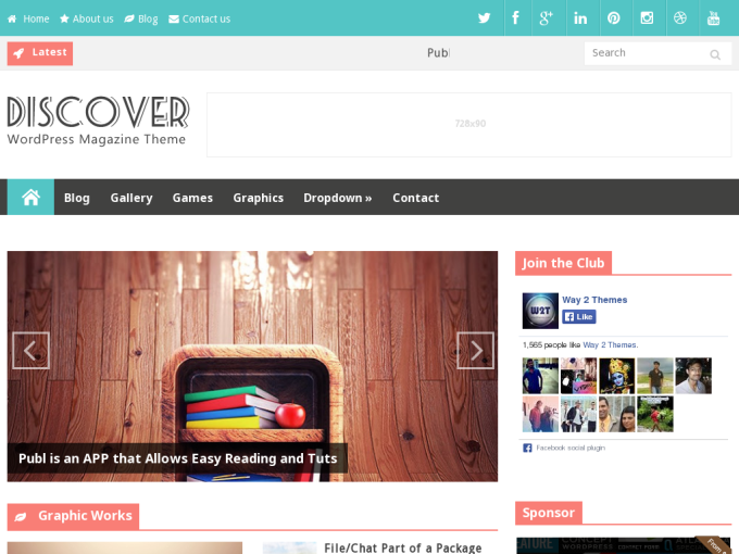 Responsive Blogger Template 2014