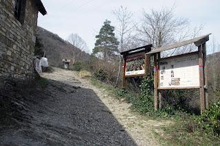 Letreros sendero SL-NA-70en Isaba