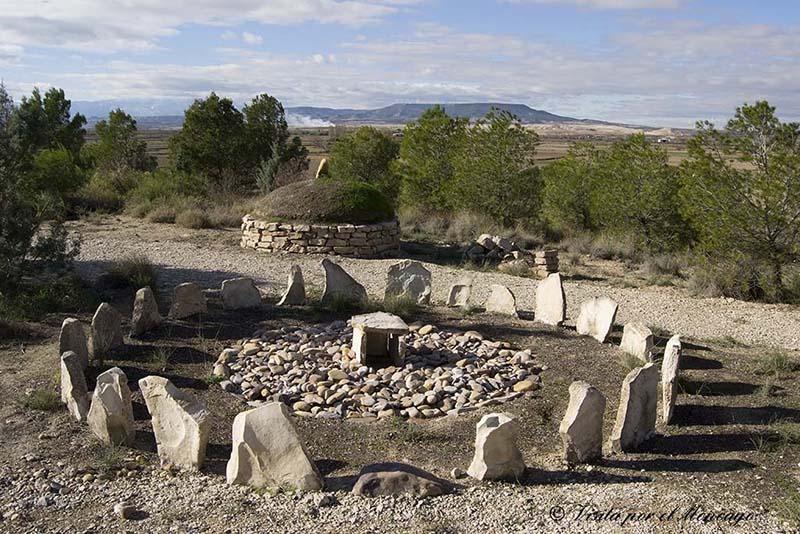 Frescano Parque Arqueologico Burren campo de urnas