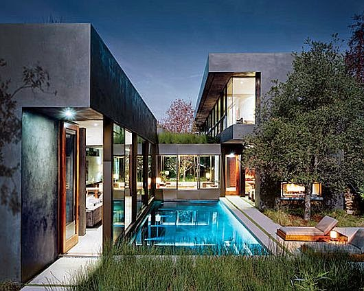 Contemporary Vienna Way Residence in Venice, California