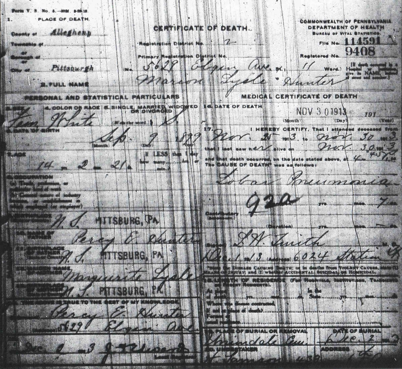 Illinois Divorce Records: From Maine To Kentucky: Amanuensis Monday