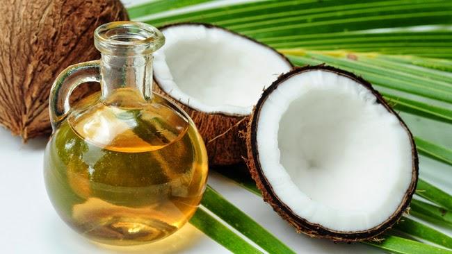 olej kokosowy na mocne brwi