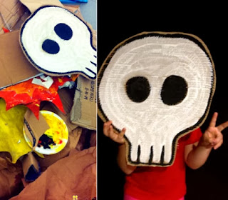 Ideas para Reciclar Carton en Halloween