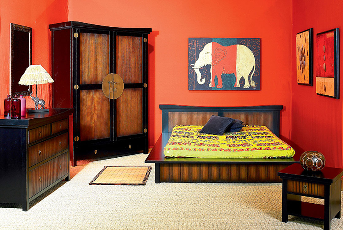 Art d co d co chambre for Deco chambre style africain