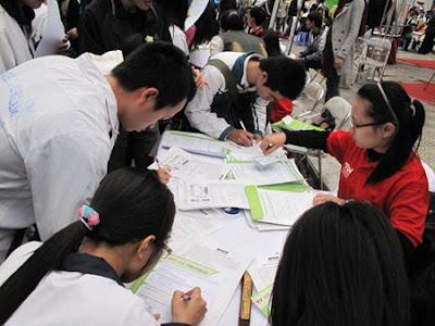 Các sai sót thường gặp khi viết hồ sơ đăng kí dự thi ĐH, CĐ 2011