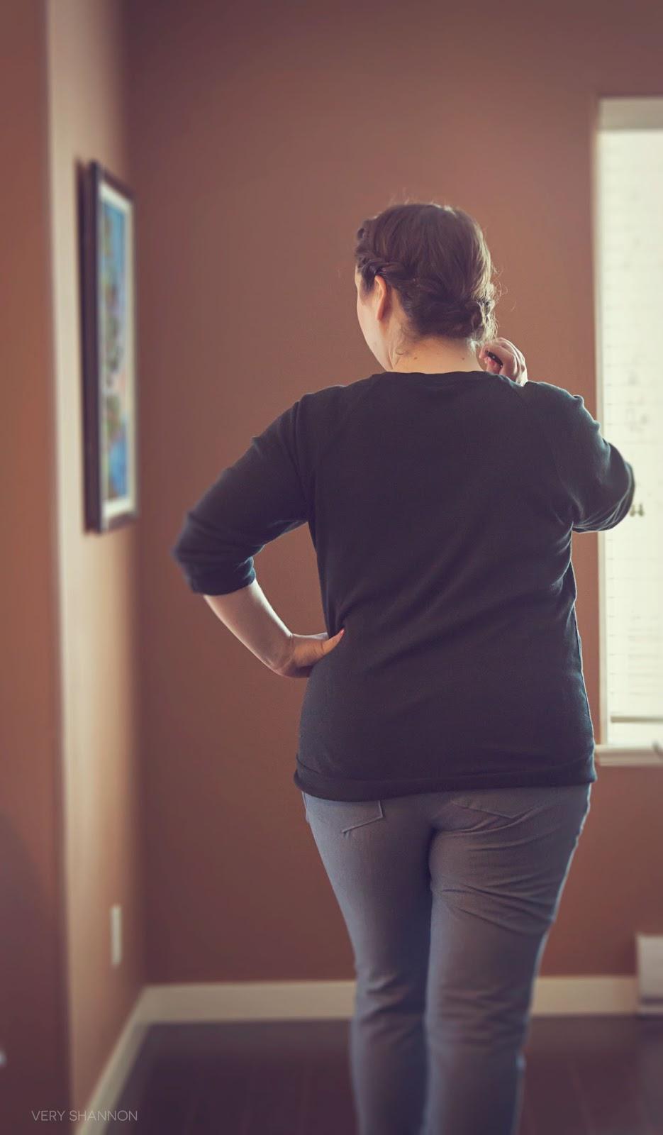 Jocole Ladies Skinny Pants Pattern Review | VeryShannon.com #sewing #pants