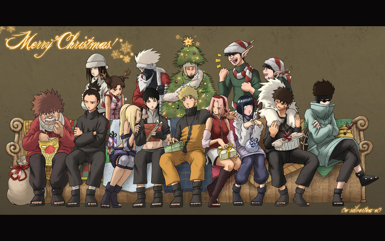 Naruto fan art naruto christmas naruto christmas voltagebd Image collections