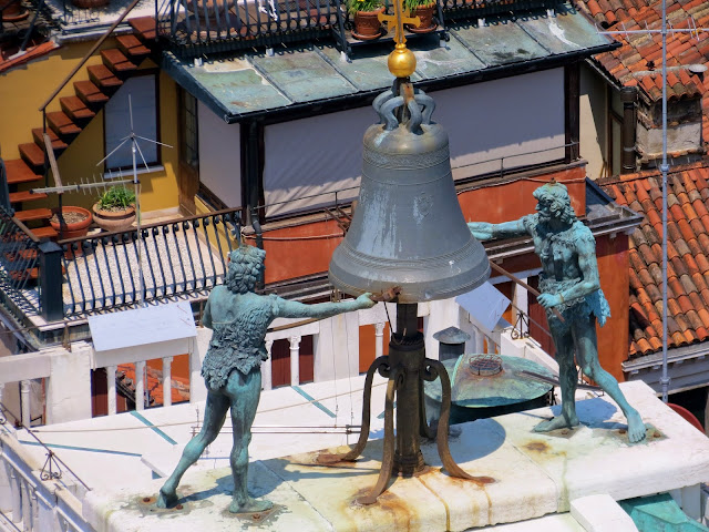 Venice bell tower moors
