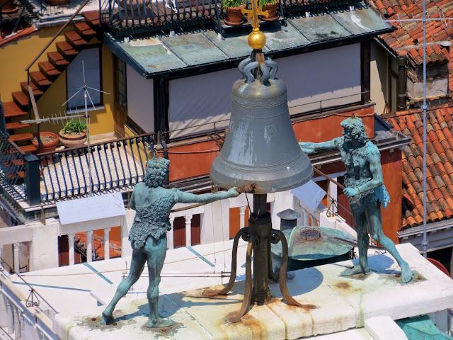 Venice bell tower moors