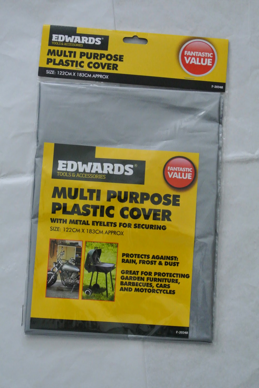 Poundworld Multi Purpose Plastic Cover