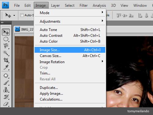 Belajar Photoshop Mengecilkan Ukuran File Foto Dengan Photoshop