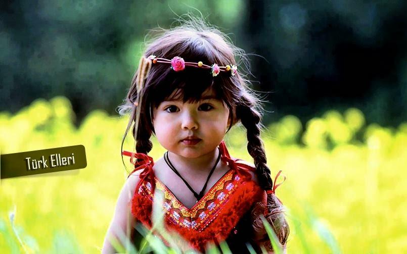 minik Türk kızı