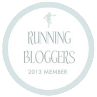 Proud Running Blogger